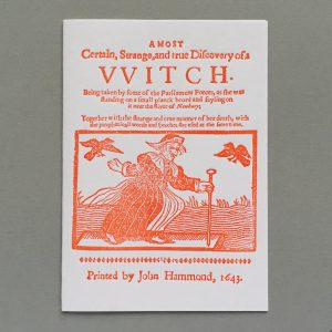 a most certain strange and true discovery of a VVitch