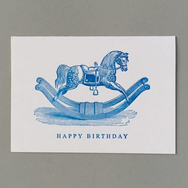 Rocking Horse. Happy Birthday
