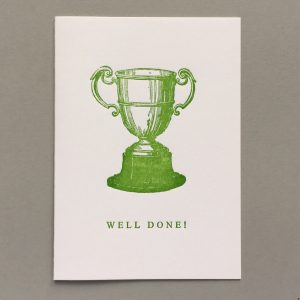 Irish cup. Well Done.