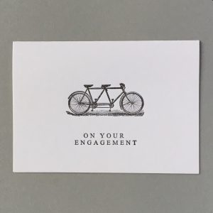 Tandem. On your Engagement