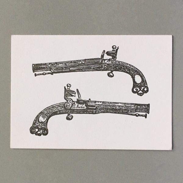 Pair of Duelling Pistols belonging to Bonnie Prince Charlie