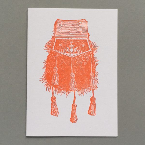 Sporran worn by Bonnie Prince Charlie