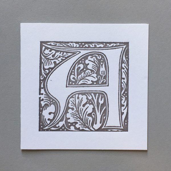 William Morris A card