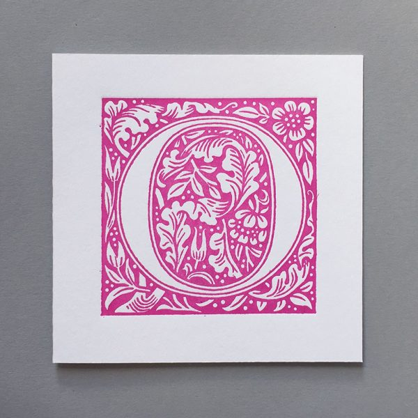 Letter Press Card William Morris O