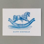Rocking Horse. Happy Birthday