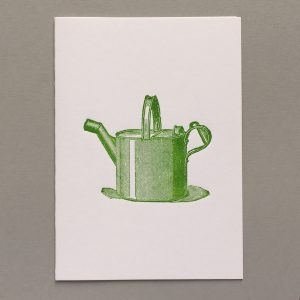 Watering can.