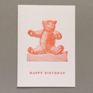 Teddy Bear. Happy Birthday