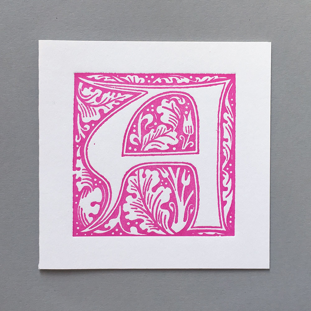 William Morris A pink